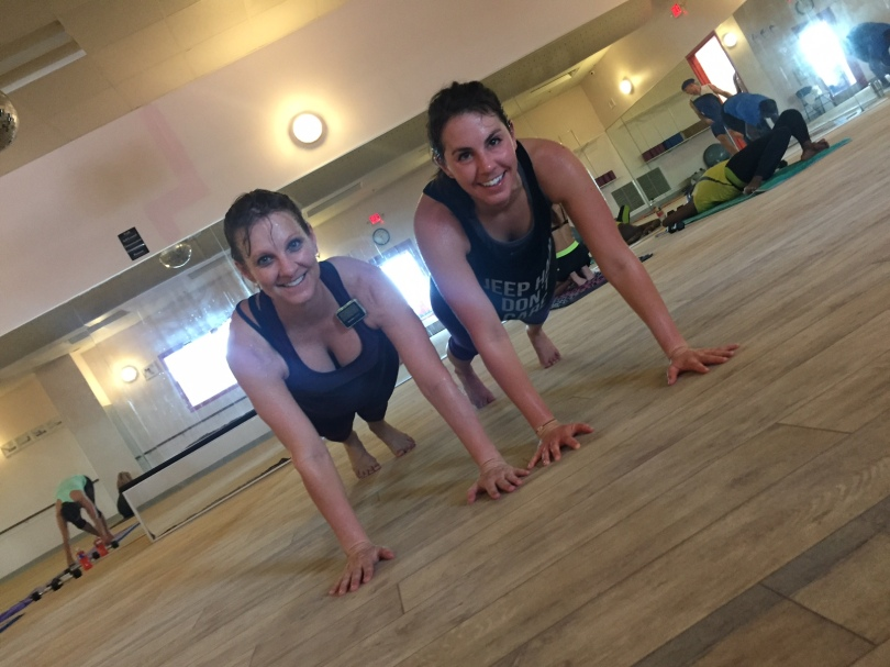 Hot Pilates with Traci