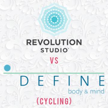 DEFINE vs. Revolution Studio –Cycling