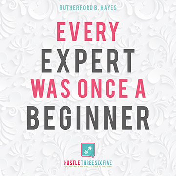 Just start…
