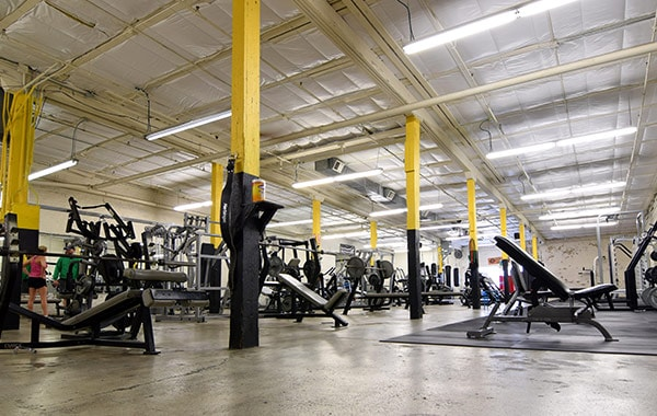Studio Fitness Heights Interior